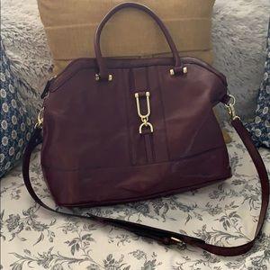 Beautiful, maroon lightly used London Fog purse